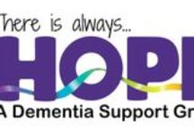 HOPE Dementia Support Group / There is always hope. We are a non-profit organization in Vancouver, Washington that provides advocacy, support and education to individuals caring for people with all types of dementia. Open to everyone free of charge. Don't do it alone.