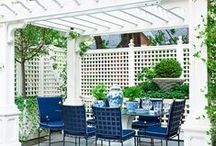 Trellis Ideas / Trellis ideas for outdoor walls and roofing for the patio, garden or yard