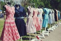 Dreaming Of Day Dresses / All of the loveliest Spring & Summer day dresses! / by Miss L Fire