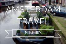 Reiseziel - AMSTERDAM