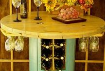Wine storage / Wine cellars, wine racks, wine cabinets....everything devoted to wine storage.