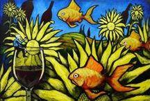 Wine Art / Wine inspires great art!