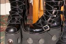 Heels, Boots, Pumps Galore!! / by Mynnxie Noire