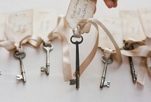 Wedding name tags and seating plans