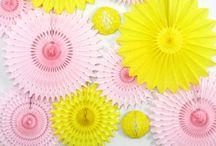 Pink vs yellow / Sweet like candy