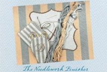 The Needlework Finisher / This is a keepsake book of my years of needlepoint finishing.