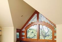 Unusual shapes / Whatever the opening, Open can make a #shutter to fit perfectly. www.openshutters.com.au