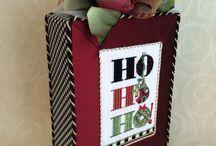 Christmas Needlepoint Finishing / Christmas items I have finished for shops