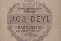 Pardubice, historické fotoateliery