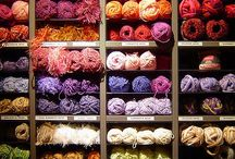 Beautiful Yarns / Yarns I have knitted with, or would love to !