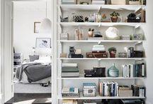 Shelves styling
