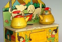 old toys / childhood toys collectables from a bygone era