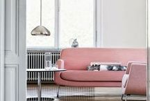 Scandi Home / Scandinavian home style: clean, bright and white, uncluttered & minimal design.