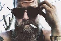 tattoos / men / beard :3