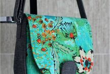 Beautiful bags and patterns / Bags, all different styles and patterns as well. Hand made also.