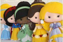 Felt....Dolls.