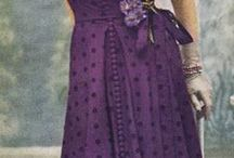 Vintage Patterns / Vintage fashions