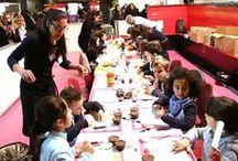 ATELIERS ENFANTS / Voici les ateliers enfants gérés par JSG CAKE DESIGN et CELINE'S CAKES ainsi que leur super équipe.