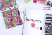 travel journal + story line