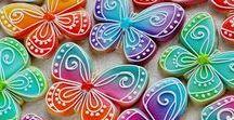 Butterfly / Ladybird / Bee Cookies