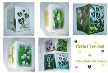 Les cartes doubles de Céline Photos Art Nature