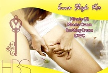 Inner Thigh Whitening Kit / It peels off dark skin on that particular area and lightens it as well. Take away the shyness when wearing sexy, short bottoms!  Contains: •Miracle Oil •Miracle Cream •Soothing Cream •IDWC  Price: P530.00  For orders, call/text me at 09178556638.