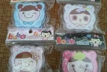 Contact Lenses Travel Kits / Travel Kits: Bobo character w/ mirror (P70) Bobo character w/o mirror (P55) Text me at 09178556638 for orders. :) Thanks!