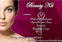Beauty Kit / Do you have dark, dull, and uneven skin tone? For flawless, whiter skin in no time. It has Vit. A that helps in whitening and promote healthier skin. Whitening, Anti-aging, removes dark spots. This kit will surely give you that pinkish glow.  Contains: •Medicated Astringent •Hypoallergenic Soap •Sunblock •Bleaching Cream  Price: P450.00  For orders, call/text me at 09178556638.