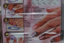 Nail Art Stamping Kit / Salon Express, get beautiful salon quality designer nails in minutes!  Per kit includes: 1 scraper 1 stamper 1 holder 5 design plates (each with 6-7 designs) and instruction guide.  Buy now for only P200!  For orders, just send me a private message or text me at 09178556638. Happy Stamping! :)