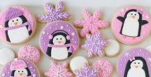 Penguin / Polar Bear Cookies