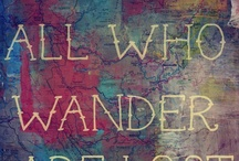Wanderlust / by Patricia Girolami