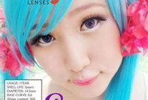 Scarlet 14.5mm Contact Lenses / Shop now at http://shop.jeanmonique.com <3 Thanks loves! <3 #Anthea