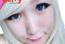 Cutie 16mm Contact Lenses / Shop now at http://shop.jeanmonique.com <3 Thanks loves! <3 #Anthea