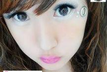 Diamond 16mm Contact Lenses / Shop now at http://shop.jeanmonique.com <3 Thanks loves! <3 #Anthea