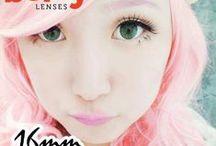 Vinnet 16mm Contact Lenses / Shop now at http://shop.jeanmonique.com <3 Thanks loves! <3 #Anthea
