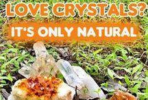 Striking Citrine Crystals
