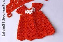 Crochet bebe: ropita, patucos... / ropita para el bebe y patucos a crochet. / by Gatita tejiendo