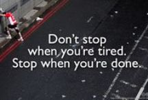 Running Inspiration & Motivation / Inspirational Running Sayings, Quotes, and Signs