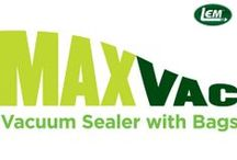 MaxVac Vacuum Sealer by LEM Products / Our New & Improved MaxVac Vacuum Sealer. It's built like a tank - definitely not a toy. Seal and preserve your foods with confidence!