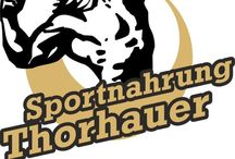 Sportnahrung Thorhauer / Hier findest du alles für deine Muskeln. Sportnahrung, Rezepte, Shakes, Bekleidung, Diät u.s.w.