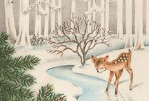 Vintage Christmas / Great vintage Christmas ideas and images