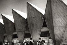 Brutalism / concrete; brutalist architecture