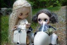 Muñecas Blythe / muñecas. / by Gatita tejiendo