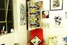 My Studio / Images of my creative space/practice