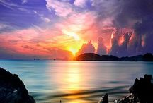 Paradise Lux / Travel Destinations and Sunset sceneries