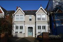 Project Evans - Ealing W13 / A full width rear dormer conversion into two bedrooms and one bathroom.  Ash Island Lofts.