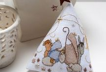 CHRISTMAS by Faby Reilly / Christmas Needlework Designs by Faby Reilly