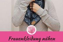 Frauenkleidung nähen - Freebooks / DIY Kleidung nähen für Frauen. Nach diversen freebooks / Schnittmustern / free pattern