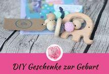 DIY Geschenke zur Geburt / Baby / DIY handmade Geschenke zur Geburt vom Baby ♥ Welcome Baby ♥