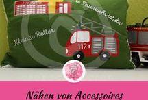 Nähen von Accessoires / nähen verschiedener Accessoires und nützlichen Alltagshelfer für Kinder / Erwachsene